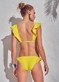 Morhipo Beach Volan Detaylı Bikini Sarı